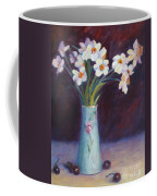 Daffodils And Cherries Coffee Mug