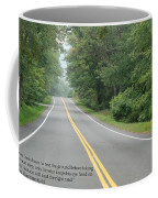 Dag Hammarsakjold Never Look Down... Coffee Mug