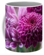 Dahlia And Mums Coffee Mug