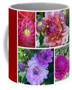Dahlia Best Collage Coffee Mug