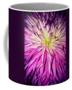 Dahlia Bursting With Color Coffee Mug