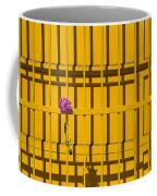 Dahlia In Yellow Gate Coffee Mug