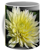 Dahlia Named Canary Fubuki Coffee Mug