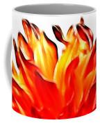 Dahlia On Fire Coffee Mug