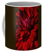 Dahlia Red Coffee Mug