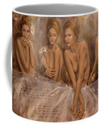 Daisies And Doubts Coffee Mug