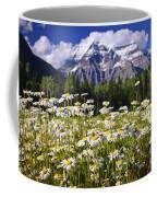 Daisies At Mount Robson Coffee Mug by Elena Elisseeva