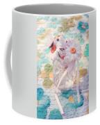 Daisies In Pot 02a - Du Bonheur En Pot Coffee Mug