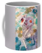 Daisies In Pot 02c - Du Bonheur En Pot Coffee Mug