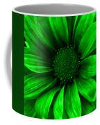 Daisy Daisy Neon Green Coffee Mug