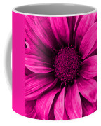 Daisy Daisy Neon Pink Coffee Mug