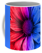 Daisy Daisy Red To Blue Coffee Mug