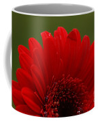 Daisy Red Coffee Mug