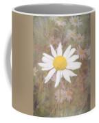 Daisy Textured Coffee Mug