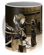 Dakota Homage #1 1945 Cowboy Extras Sound Stage Old Tucson Arizona Coffee Mug