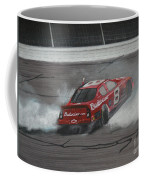 Dale Earnhardt Junior Victory Burnout Coffee Mug
