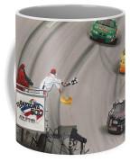 Dale Earnhardt Wins Daytona 500-checkered Flag Coffee Mug