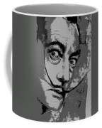Dali In B W Coffee Mug