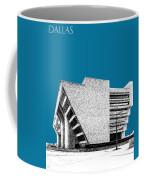 Dallas Skyline City Hall - Steel Coffee Mug
