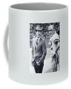 Dallas Cowboys Coach Tom Landry And Quarterback #12 Roger Staubach Coffee Mug