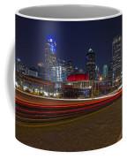 Dallas Skyline At Night Coffee Mug