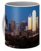 Dallas Skyline Sunset Coffee Mug