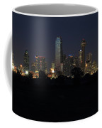 Dallas Skyline Twilight Coffee Mug