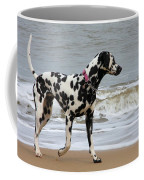 Dalmatian By The Sea Coffee Mug