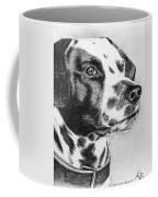 Dalmatian Portrait Coffee Mug