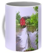 Dam At Starrs Mill Coffee Mug