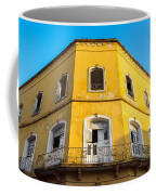 Damaged Colonial Building Coffee Mug