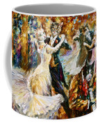 Dance Ball Of Cats  Coffee Mug by Leonid Afremov