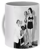 Dance Director Selecting Girls Coffee Mug