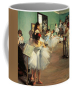 Dance Examination Coffee Mug by Edgar Degas