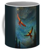 Dance Of The Firehawks Coffee Mug
