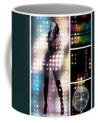 Dance Series - Disco Coffee Mug by Linda Lees