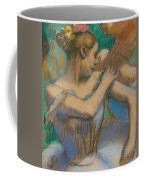 Dancer Adjusting Her Shoulder Coffee Mug