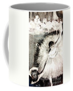 Dancer With A Bouquest Of Flowers By Edgard Degas Coffee Mug