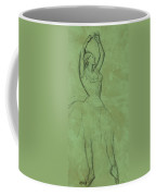 Dancer With Raised Arms Coffee Mug by Edgar Degas