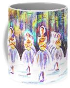 Dancers In The Forest II Coffee Mug