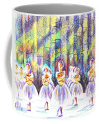 Dancers In The Forest Coffee Mug by Kip DeVore