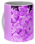 Dancing Flames-purple Coffee Mug