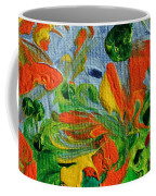 Dancing Flowers Coffee Mug