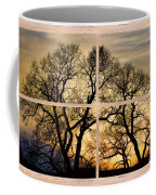 Dancing Forest Trees Picture Window Frame Photo Art View Coffee Mug