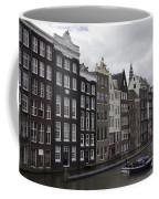 Dancing Houses Damrak Canal Amsterdam Coffee Mug