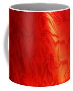 Dancing In The Fire Abstract Coffee Mug