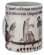 Dancing Pig, 14th Century Coffee Mug