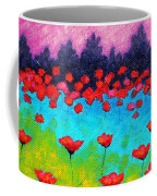 Dancing Poppies Coffee Mug