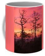 Dancing Trees Into The Fire Coffee Mug
