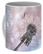 Dandelion Before Pretty Bokeh Coffee Mug